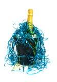 Champagne in koeler Royalty-vrije Stock Afbeelding