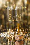 Champagne-Korken Lizenzfreies Stockfoto