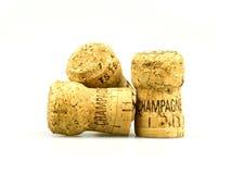 Champagne kurkt Royalty-vrije Stock Afbeelding