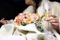 champagne långt Royaltyfri Bild