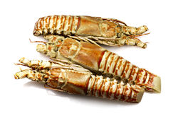 Champagne Lobster Royalty Free Stock Images