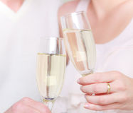 Champagne love Royalty Free Stock Image