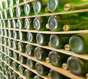 Champagne making background Stock Images