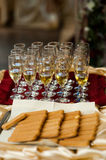 CHAMPAGNE - mariage Image stock
