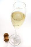 Champagne med korkar Arkivfoton