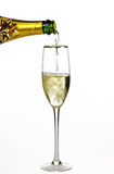 champagne mer Royaltyfri Fotografi