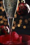 Champagne nel glasse Fotografie Stock