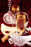 Champagne for New Year Royalty Free Stock Photo