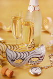 Champagne for New Year Royalty Free Stock Images