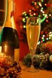 champagne new year Στοκ Φωτογραφίες
