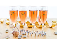 Champagne for New Year's Stock Photo