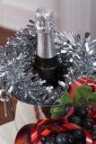 Champagne Nieuwe year& x27; s vooravond viering Stock Foto