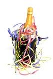 Champagne no refrigerador Imagens de Stock
