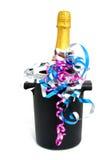 Champagne no refrigerador Imagem de Stock Royalty Free