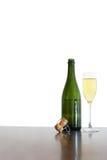Champagne-noch Leben Stockbild