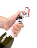 Champagne opening. Stock Photography