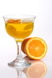 Champagne Orange jelly Royalty Free Stock Photos
