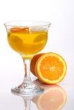 Champagne Orange jelly Royalty Free Stock Photos