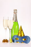Champagne and party Royalty Free Stock Photo