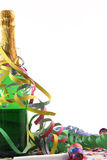 Champagne and party stock image