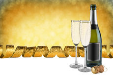 Champagne party Stock Photography