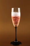 Champagne pink fizz celebration Royalty Free Stock Images