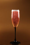 Champagne pink fizz celebration Stock Photos