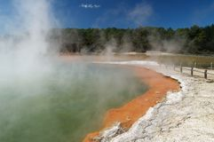 Champagne pool Royalty Free Stock Images