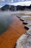 Geothermal Acivity - Champagne Pool - New Zealand Stock Photos