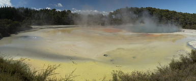 Champagne pool. New Zealand Royalty Free Stock Photos