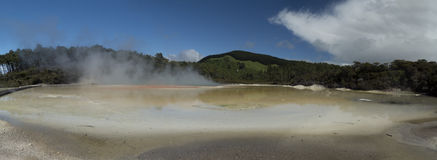 Champagne pool. New Zealand Stock Image