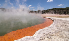 Champagne Pool, Rotorua Royalty Free Stock Images