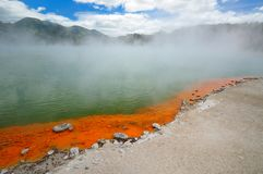 Champagne Pool, Wai-O-Tapu Stock Images