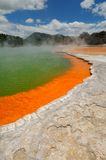 The Champagne Pool, Wai-O-Tapu Royalty Free Stock Images