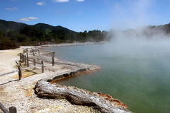 Champagne Pool, Wai-O-Tapu,New Zealand Stock Image