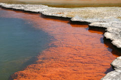 Champagne Pool,Wai-O-Tapu,New Zealand Royalty Free Stock Images