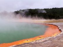 Champagne Pool, Wai-O-Tapu, New Zealand Stock Photos