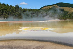 Champagne Pool, Wai-O-Tapu,New Zealand Stock Photos