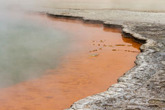 Champagne pool, Waiotapu Stock Photo