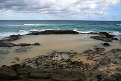 Champagne Pools - Fraser Island Stock Photos