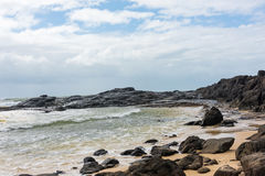Champagne Pools on Fraser Island in Australia Royalty Free Stock Images
