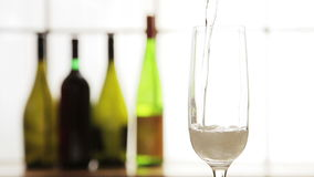 Champagne Pour stock video