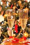 Champagne pour deux Photographie stock