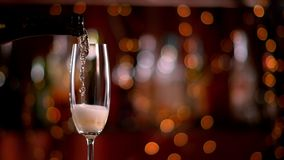 Champagne Pouring stock footage