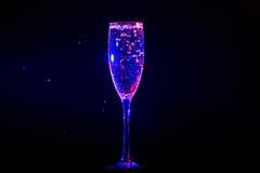 Champagne pouring 免版税库存图片