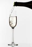Champagne Pouring Imagenes de archivo