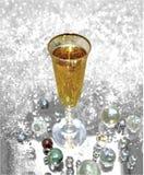 Champagne precis för dig! royaltyfri fotografi