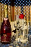Champagne-presentatie Royalty-vrije Stock Foto
