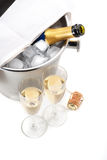 Champagne is ready! Stock Image