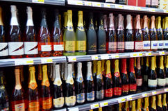 Champagne sale Royalty Free Stock Photo